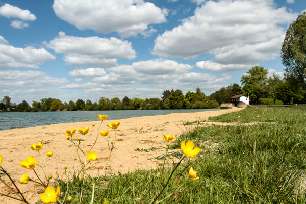 Radersdorfer Baggersee Ufer